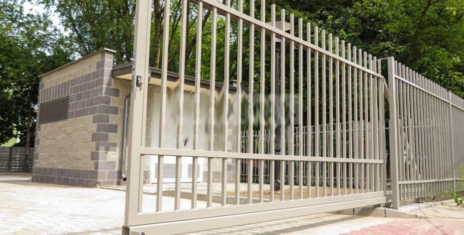 Уличные ворота DUPLEX