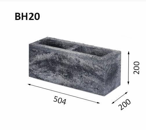 Заборные блоки BH20