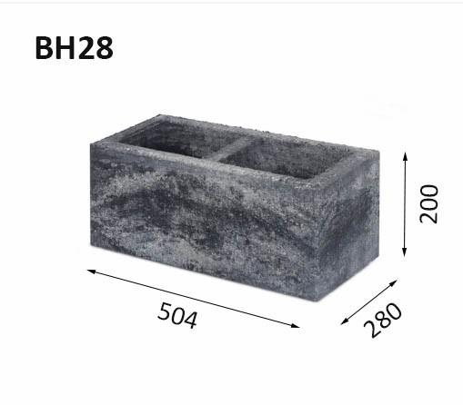Заборные блоки BH28