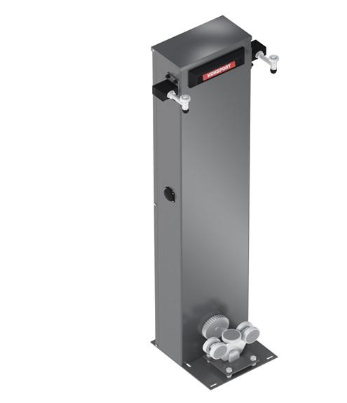 столб с интегрированой автоматика ворот
