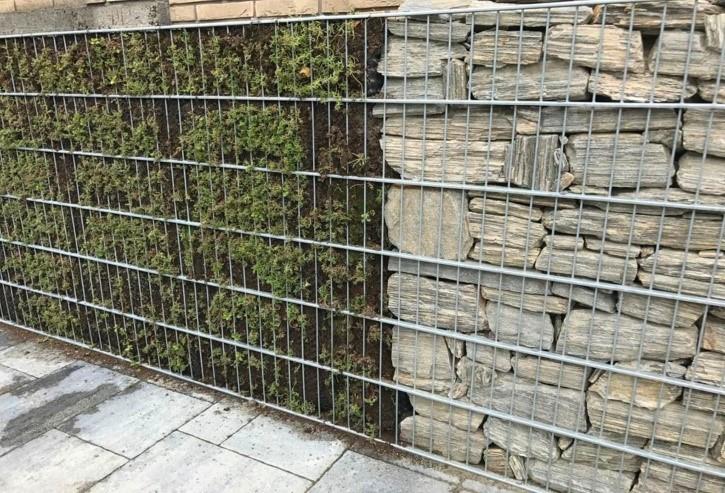 Купить забор из габионов Москва