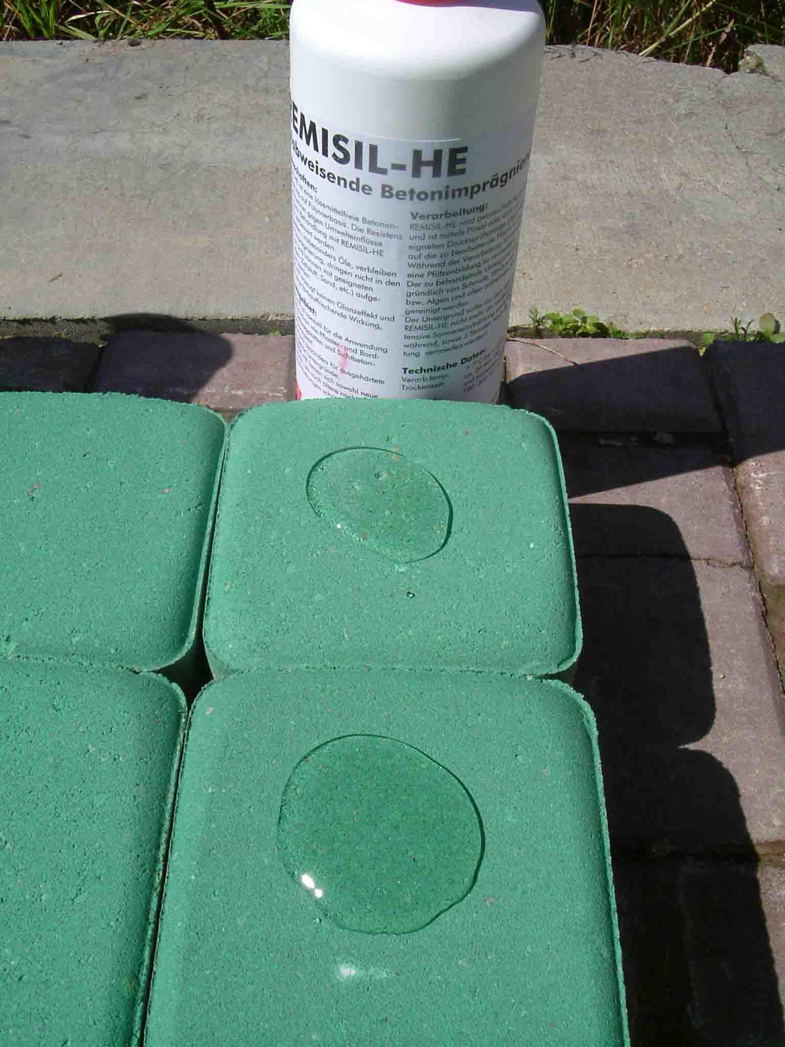 импрегнирование бетона