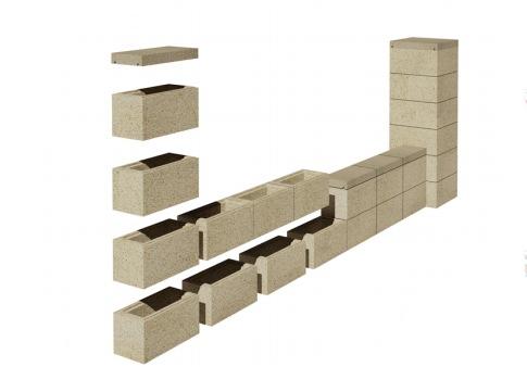 ограждения из блоков