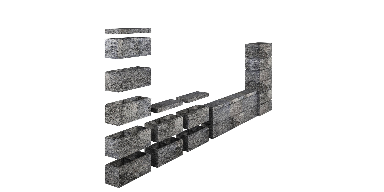 Заборные блоки RO Horizon