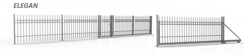 двухстворчатые ворота