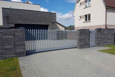 Забор расческа РР111