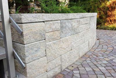 Дизайн подпорной стенки