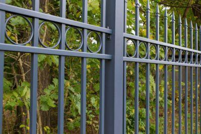 Ажурный металлический забор