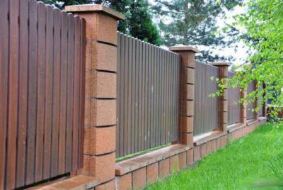 Блоки для бетонного забора