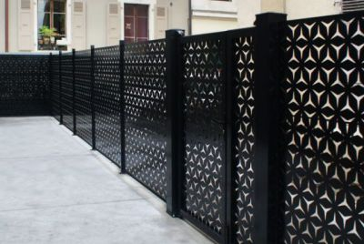Цинковый забор