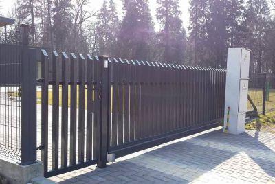 Открытый забор