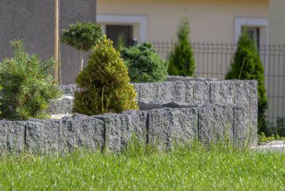 Декоративный камень в ландшафте