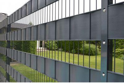Забор пластиковый