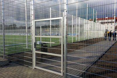 Забор из сворной сетки 2D