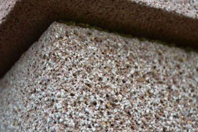Пигментирование бетонных блоков
