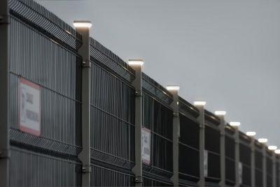 3Д забор с LED лампой