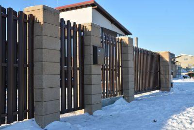 забор из брик