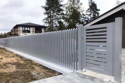 Открытый забор гребень PP111