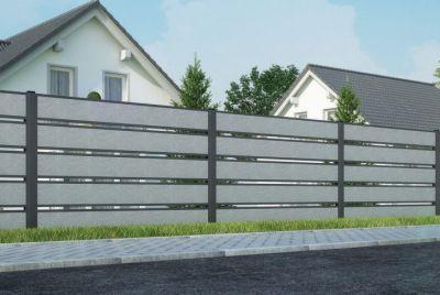 Забор из полистироля