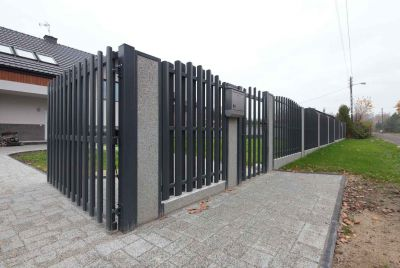 Забор и штакетника