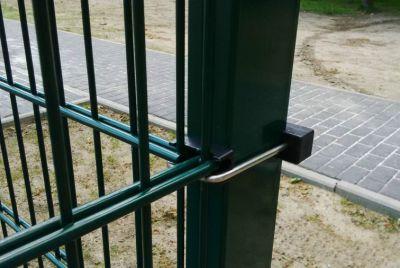 Забор из сворной сетки 2Д
