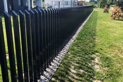 Забор гребень
