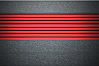 Современный горизонтальный забор-жалюзи