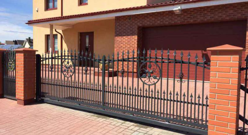 декоративный ажурный забор